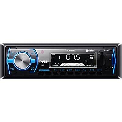 Pyle PLCD43BTM Wireless Bluetooth In-Dash Stereo Radio Head Unit Receiver