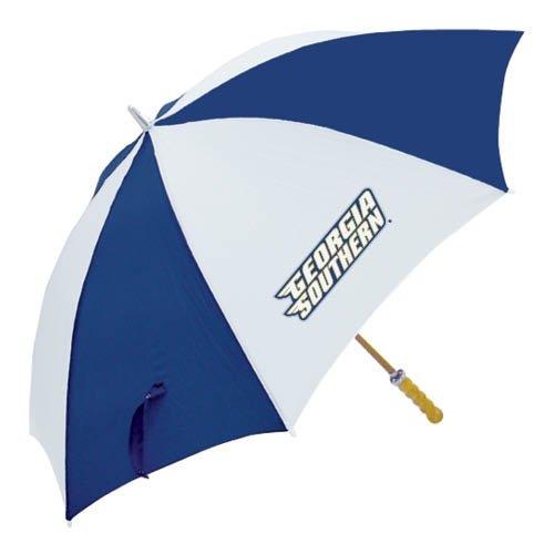 Georgia Southern 62インチNavy /ホワイト傘' Stacked Logo '   B008ZZR2GM