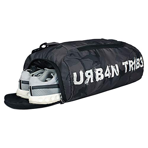 Urban Tribe Plank 23 Liters Sports Gym Bag with Separate Shoe Compartment (Camo) Price & Reviews