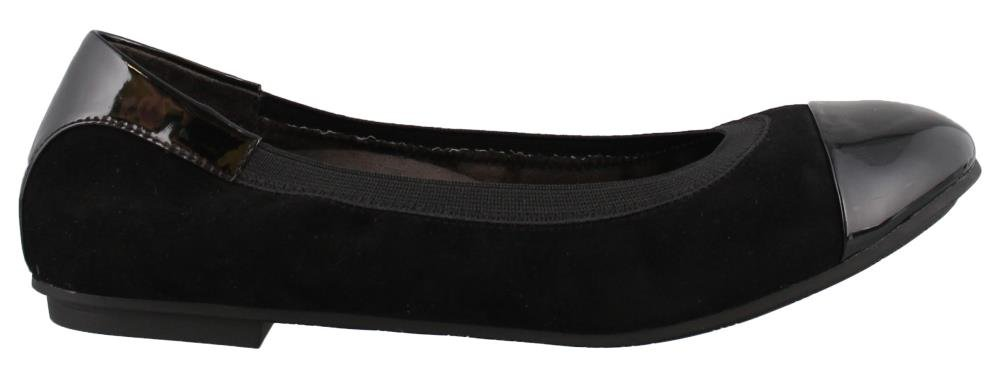 Vionic Women's 'Spark Tiegan' Slip on Flats B074RGT2B4 7.5 B(M) US|Black