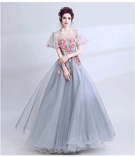 最少塊破壊的姫系 ウエディングドレス カラードレス パーティードレス Aラインドレス 花嫁 ブライダル 二次会 カクテルドレス 披露宴 お呼ばれドレス ミセス 発表会 ロングドレス コンサート