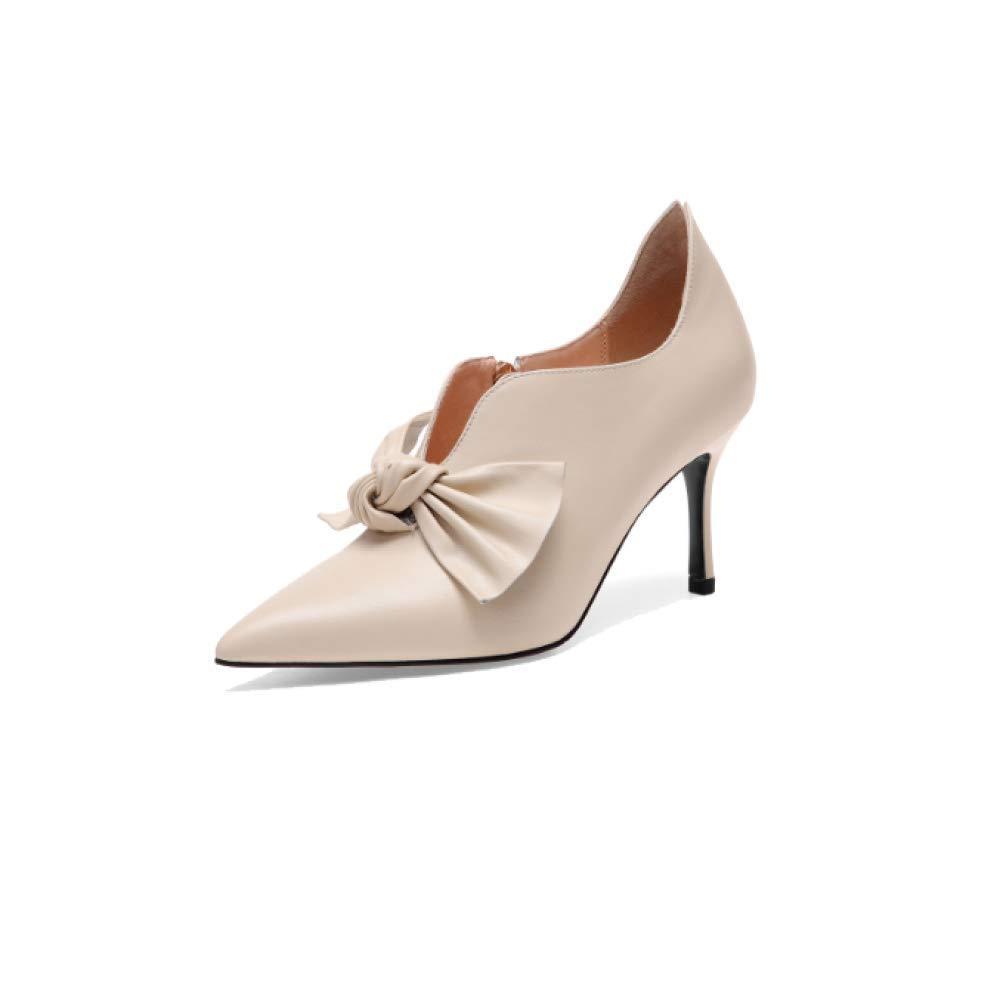 b6c61f7cb791 ZPEDY Chaussures pour Femmes, Pointues, Hauts Talons, Fermeture  éclair, élégant, élégant,  élégant, ...