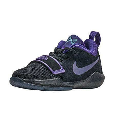 Hyper Strap Rubber (NIKE PG 1 (TD) Size 5c Black/Court Purple-Hyper Grape)