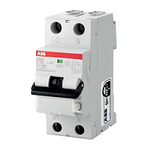 DS201C10A30 Circuit Breakers CIRCUIT BREAKER RCBO 253VAC 10A RCBO