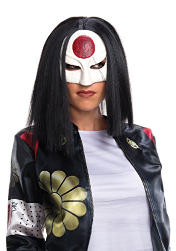 Rubie's Costume Co. Women's Suicide Squad Value Katana Wig, As Shown, One Size