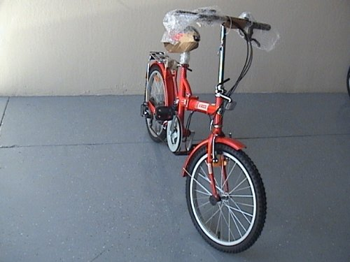 Folding Bike 20 Inchces Color RED For Sale