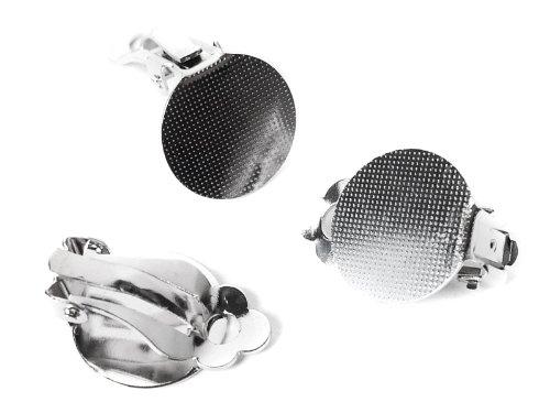 Ohrclips mit Klebefläche 15 mm - 50 Stück B00GYZBS9W | Reichlich Und Pünktliche Lieferung
