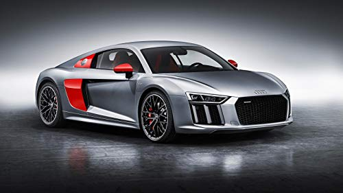 Audi R8 Coupe Sport Edition Car Poster Print #2 (24x36 Inches)