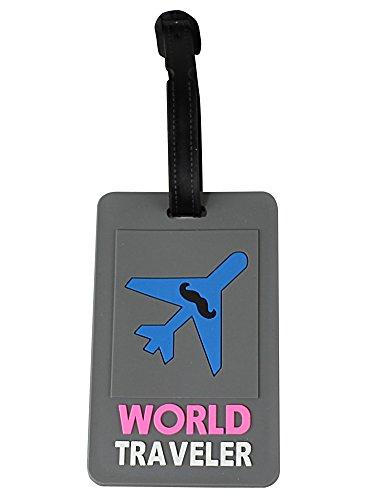 World Traveler Luggage Tag (Traveler Tag Luggage World)