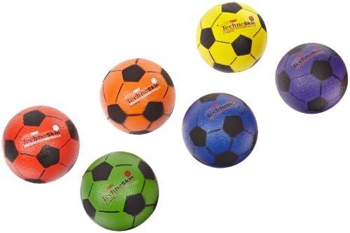 TechnoSkin - Pelota de fútbol con revestimiento de espuma interior ...
