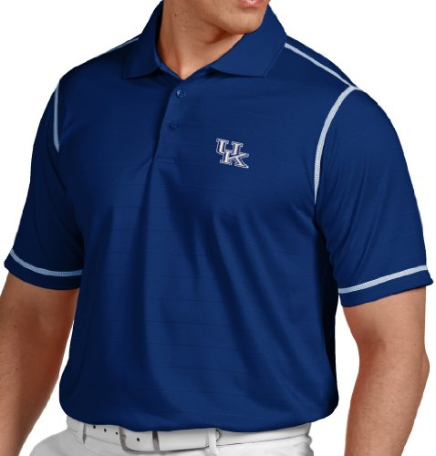 "Kentucky Wildcats Antiqua NCAA ""Icon"" Performance Polo Shirt - Blue"