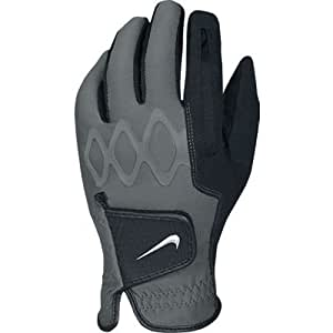 Nike Men's All Weather II Cadet Golf Gloves, Black, X-Large