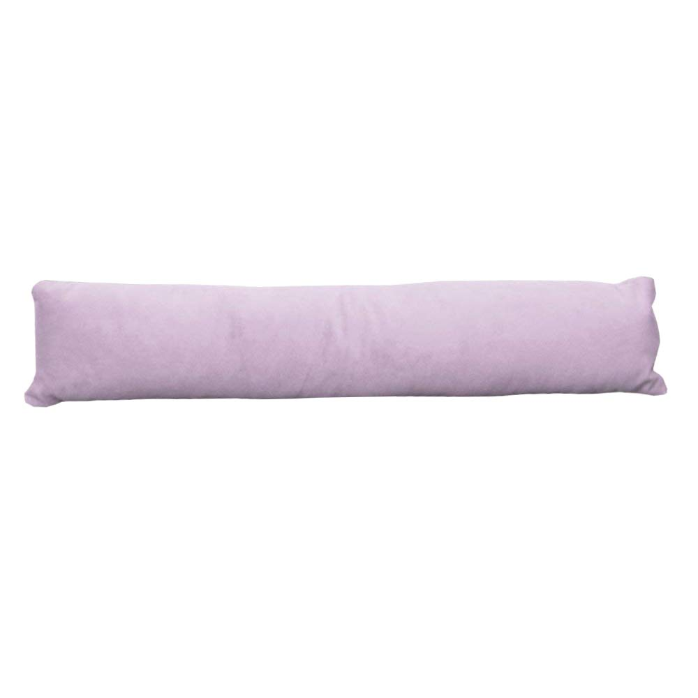 UK Care Direct Luxury Super Soft Velour Draught Excluder - Door or Window Draft Guard, Energy Saver | Lilac