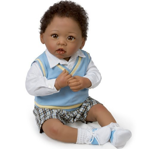 Baby Doll: Michael, I Love You To The Moon And Back Baby Doll by Ashton Drake by Ashton Drake (Ashton Drake Dolls Boy)