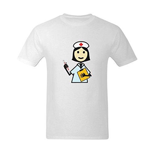 Dream-House Men's NRUSE DAY-Angel Design T-Shirt - Online T-shirt US Size - T-shirt Heavyweight Angels