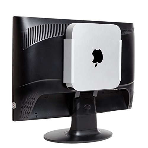 HIDEit MiniU Mount - Patented Mac Mini Wall Mount, VESA Mount, Under Desk Mount - Made in The USA (Extreme Mac Dock)