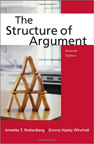 The Structure Of Argument by Annette T. Rottenberg