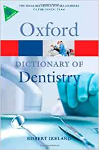 oxford dictionary of dentistry pdf