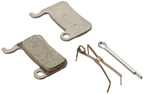 (SHIMANO BR-M975 XTR Disc Brake Pads - 1 Pair, MO7Ti, Resin Compound)