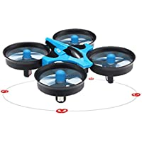 Wotryit JJRC H36 6-axis Gyro Headless Mode Mini RC Quadcopter RTF 2.4GHz (blue)