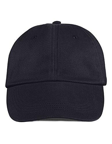 Anvil Brushed-Twill Cap - Black