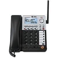 AT&T Cordless Deskset, f/SB67118/SB67138, 5-3/8x9-1/2x10,BK/SR