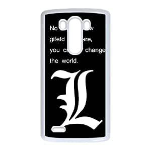 Gqgd LG G3 Cell Phone Case White Death Note