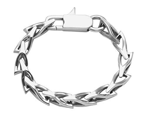 (Wildthings Ltd. Sterling Silver Tri Wishbone Link Bracelet)