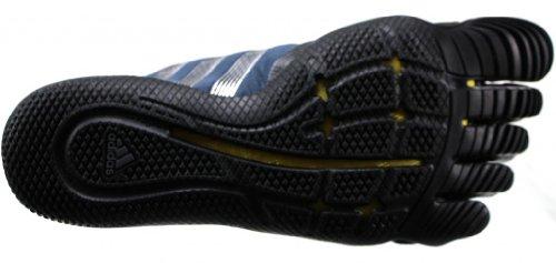 c3fca803b93ad6 adidas adiPure Barefoot Lace Trainer 1.1 Shoe - Black Metallic Silver Vivid  Yellow (