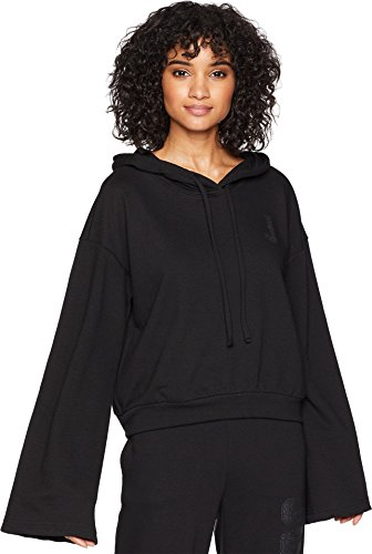 Juicy Couture Womens French Terry Logo Hoodie Black L by Juicy Couture