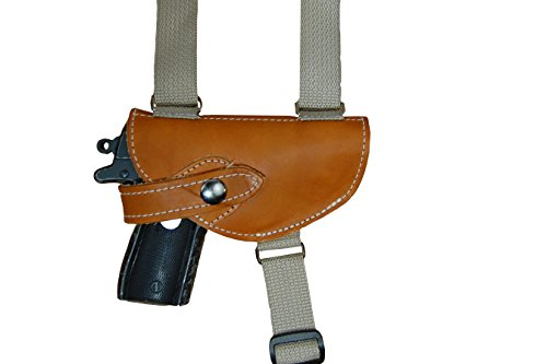 Holsters, Belts & Pouches NEW Barsony Brown Leather Shoulder Holster