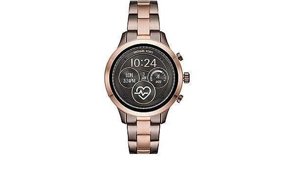 Michael Kors Access Womens Runway Touchscreen Smartwatch Stainless ...