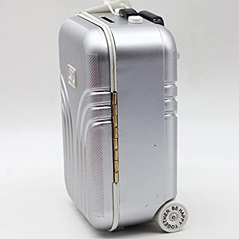Amazon.com: Bingirl Cute Plastic Rolling Suitcase Mini Luggage Box for BJD Dolls Pink 17cm 11.5cm 8.2cm: Home & Kitchen