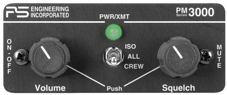 PS Engineering PM3000 4-Place Intercom