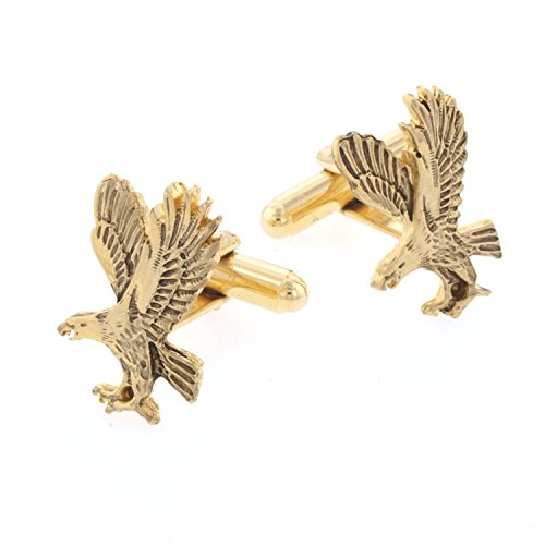 JJ Weston Hand Antiqued Eagle Cufflinks. Made in the for sale  Delivered anywhere in USA