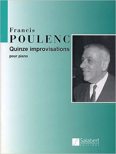 Piano Solo 15 Improvisations Pour le Piano