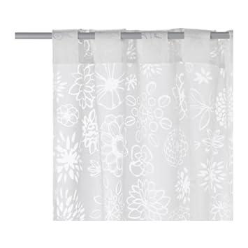 Vorhänge Ikea ikea gardinen set renate ljuv zwei transparente gardinenschals