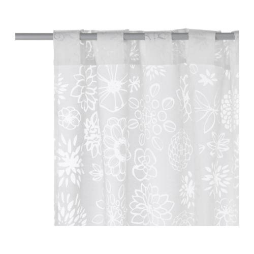 Ikea Gardine ikea gardinen set renate ljuv zwei transparente gardinenschals