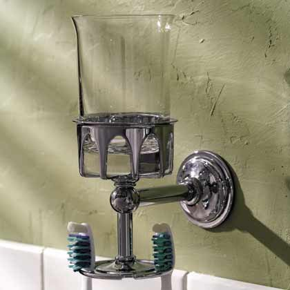 Motiv 2633-15 London Terrace Tumbler with Toothbrush Holder