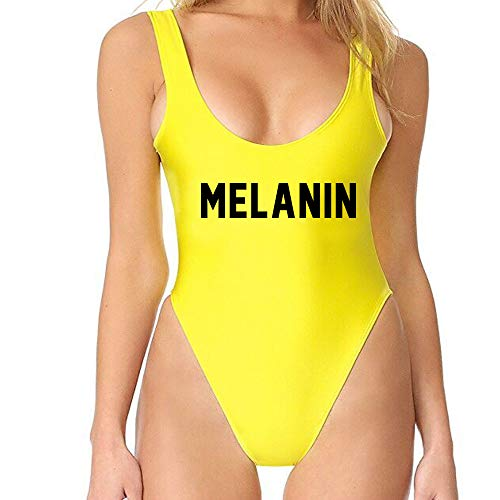 Bodysuit Customized - Yarsiman Melanin One Piece Swimsuit Bathing Suit Monokini Bodysuit
