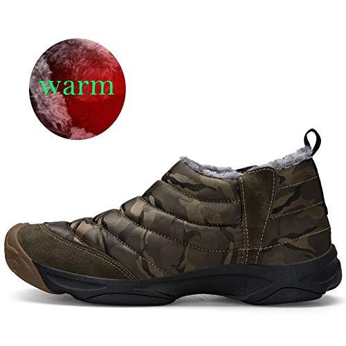 Boots Homme Snow Hiver Femme De Neige Bottes Armée Jianye verte Imperméable 4xwYOqB