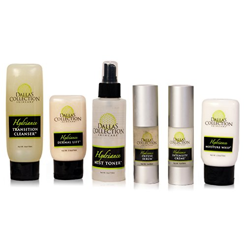 Hydriance Cosmetic Face Lift Set   6pc Non Surgical System for Tightening, Toning, Hydrating & Firming Face, Neck and (Firming System)