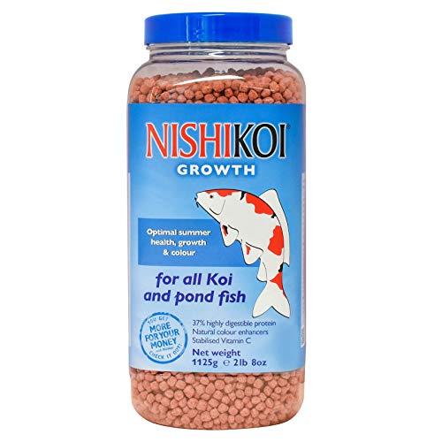 Nishikoi Growth Medium Pellet Fish Food 1125g