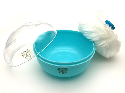 idol-design-baby-powder-puff-with-container-case-blue