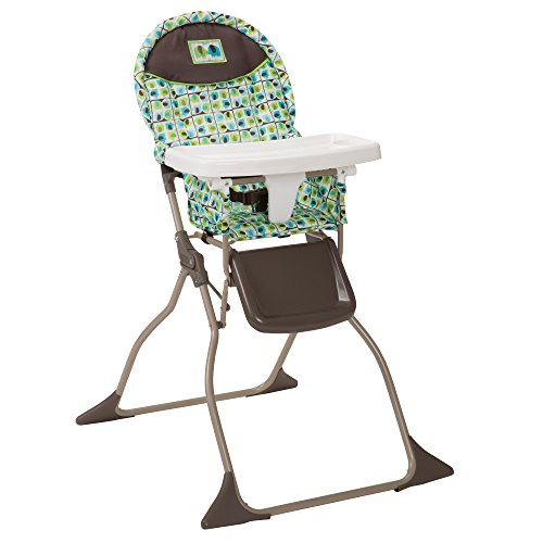 41NgzM0BR%2BL - Cosco Simple Fold High Chair With 3-Position Tray (Elephant Squares)