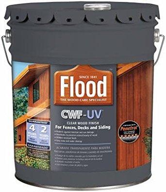 Flood FLD520-05 5G CWF-UV Cedar 275 VOC by Flood
