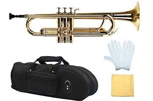 Estella PTR200MGD Bb Plastic Trumpet, Metallic Gold by Estella