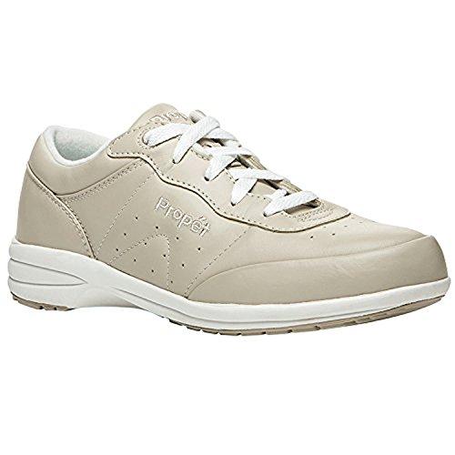 Propet Wasbare Schoenenloopschoen Voor Dames / Wit 7.5 N (aa) & Oxy Cleaner Bundel