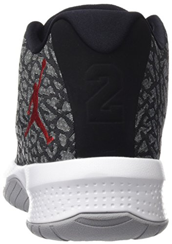 001 white Fly 881444 Grey Grau Basketballschuhe B Jordan Wolf Gym Herren Red Nike black wtq1UOXx