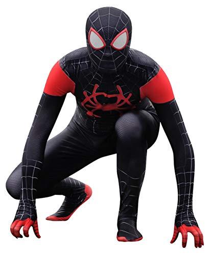 Riekinc Unisex Lycra Spandex Zentai Halloween Cosplay Costumes Kids 3D Style